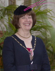 Lady Mayoress - Mrs Vivienne Wilkes
