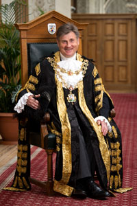 Lord Mayor Cllr Carl Rice