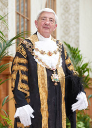 Lord Mayor Cllr Raymond Hassall (newsroom pic)